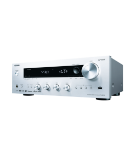 Network Receiver stereo Hi-Fi TX-8270 Silver, Chromecast built-in, Dual-band Wi-Fi®, AirPlay, and Spotify® Connect, DAB/DAB+
