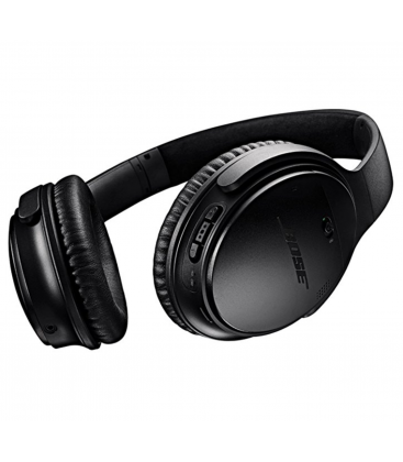 Casti Wireless cu Bluetooth si Noise Canceling Bose QuietComfort 35 Black II, Bluetooth, NFC, Google Assistant