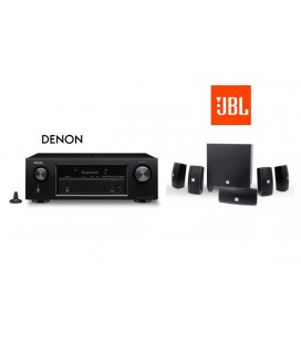 Receiver Denon AVR-X540BT cu set de Boxe 5.1 JBL Cinema 610