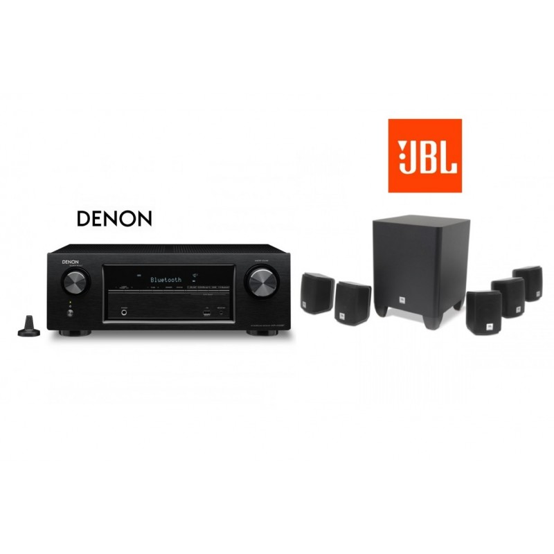 Receiver Denon AVR-X540BT cu set de Boxe 5 1 JBL Cinema 510
