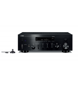 Receiver Stereo Yamaha R-N803D Black, Wi-Fi, Bluetooth, Airplay, MusicCast, DAB, DAB+ Tuner, YPAO™