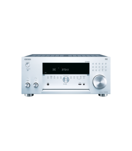 Network A/V Receiver 9.2 Onkyo TX-RZ1100 Silver,DTS:X™, Dolby Atmos®, THX®-Certified, Chromecast, Wi-Fi®, Spotify, FlareConnect™