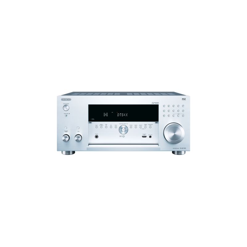 Network A/V Receiver 9 2 Onkyo TX-RZ1100 Silver,DTS:X™, Dolby Atmos