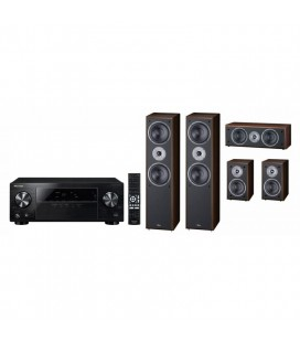 Receiver AV 5.1 Pioneer VSX-330-K cu Set Boxe surround 5.0 Magnat Supreme 802