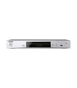 Blu-ray Disc Player Onkyo BD-SP353 Silver, Dolby® TrueHD, DTS-HD Master Audio™, BD-Live, 1080p Upscaling