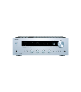 Network Receiver stereo Hi-Fi Onkyo TX-8130 Silver, Internet Radio, Spofify Connect , Hi-Res Audio