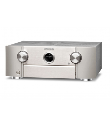 Receiver AV 9.2 Marantz SR6012 Black, Wi-Fi, Bluetooth, 4K Ultra HD, Airplay, HDMI 2.0a si HDCP 2.2, HDR, BT.2020