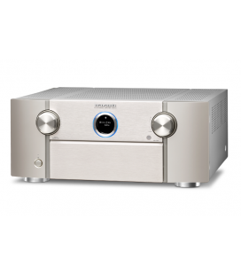 Receiver AV 11.2 Marantz SR8012 Silver, AirPlay, Bluetooth, TuneIn Internet Radio, HEOS, Amazon Alexa
