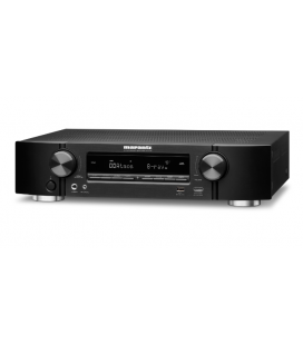 Receiver A/V 5.1 canale Marantz NR-1608 Black, ULTRA-SLIM, AirPlay, Bluetooth, TuneIn Internet Radio, HEOS, Amazon Alexa