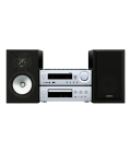 Micro Sistem Stereo Hi-Fi Onkyo CS-N1075 Silver/Black, Bluetooth®, Airplay®, Hi-Res Playback, Spotify, TuneIn Radio, Deezer
