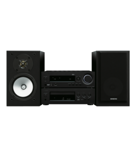 Micro Sistem Stereo Hi-Fi Onkyo CS-N1075 Black/Black, Bluetooth®, Airplay®, Hi-Res Playback, Spotify, TuneIn Radio, Deezer