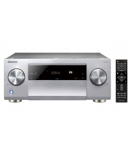 Network A/V Receiver 9.2 PIONEER SC-LX701 SILVER, class D AMP, 4K ultra-HD, Dolby Atmos, DTS:X, high-resolution streaming