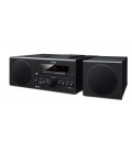 Micro sistem stereo cu Bluetooth® Yamaha MCR-B043 Black, CD, iPod/iPhone, iPad (via USB), USB, radio FM, Aux-in