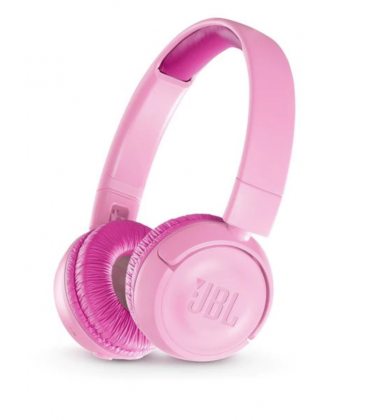 Casti on ear wireless cu Bluetooth® 4.0 JBL JR300BT Punky Pink, Child Friendly