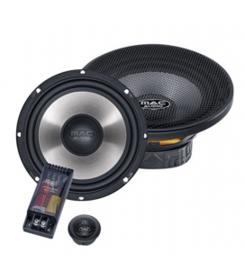 Boxe auto componente MAC AUDIO Power Star 2.16, 16.5 cm, 100W RMS, 90db - pereche