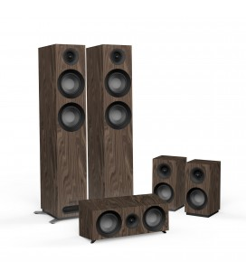 Set boxe 5.0 Jamo S 807 HCS Walnut