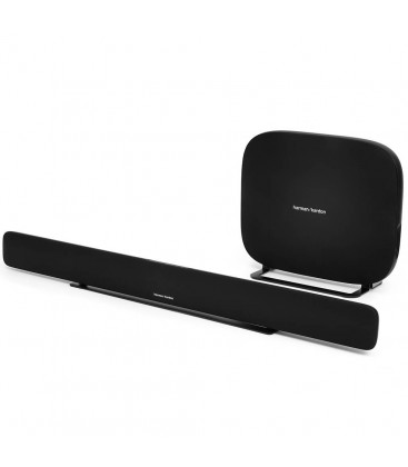 Soundbar Harman Kardon Omni Bar+ Black, Multiroom, Chromecast, Wireless HD music