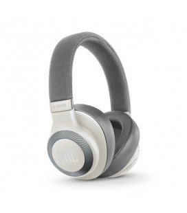 Casti on Ear Wireless JBL E65BTNC WHITE, Bluetooth 4.0, Active Noise Canceling