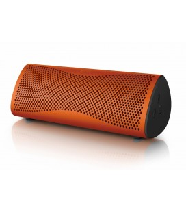 Boxa Wireless Portabila Kef MUO Sunset Orange, Bluetooth® 4.0 aptX®