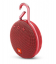 Boxa portabila wireless cu Bluetooth® JBL Clip 3 Fiesta Red, IPX7 Waterproof, baterie 1000mAh
