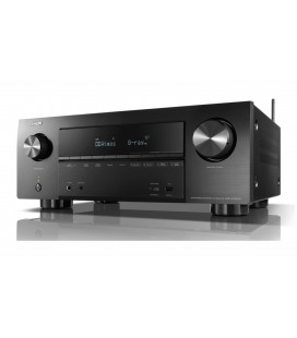 Network AV Receiver AV 7.2 Denon AVR-X2500H, 150W per channel, HEOS built-in, Wi-Fi, Airplay, Bluetooth, 4K Ultra HD, Hi-Res