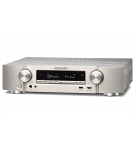 Network Receiver A/V 7.2 Marantz NR-1609 Silver, ULTRA-SLIM, AirPlay, Bluetooth, TuneIn, HEOS, Amazon Alexa