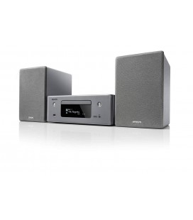 Micro Sistem Stereo Hi-Fi Denon CEOL N10 Grey, Wi-Fi, Ethernet, AirPlay 2, Bluetooth®, FM/AM radio, CD player, HEOS Music