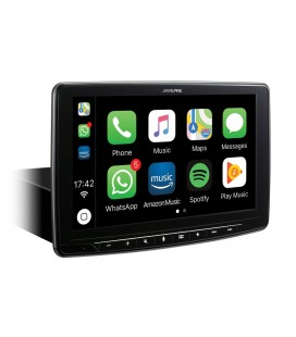 Digital Media Station Alpine iLX-F903D, 1DIN, Apple CarPlay and Android Auto compatibility