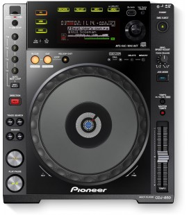 Pioneer CDJ 850 K, CD DECK PIONEER - black