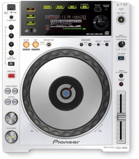 Pioneer CDJ 850 W, CD DECK PIONEER - white