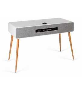 Microsistem stereo Ruark R7 MK3 SOFT GREY - WiFi, Bluetooth aptX HD, Internet Radio, Multi Room,  CD, FM, DAB, DAB+
