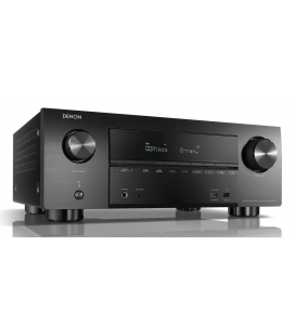 Receiver AV 7.2 Denon AVR-X3500H, 135W per channel, HEOS built-in, Wi-Fi, Airplay, Bluetooth, 4K Ultra HD, Hi-Res