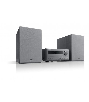 Micro sistem stereo Hi-fi Denon D-T1 Black, FM/AM, CD AND Bbluetooth®