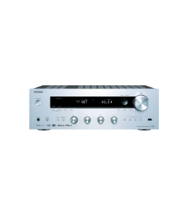 Network Receiver stereo Hi-Fi Onkyo TX-8250 Silver, Bluetooth Audio, Wi-Fi®, and AirPlay, Spotify