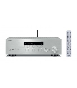 Receiver Stereo Yamaha R-N303 Silver, Airplay, DLNA, Bluetooth®, DAB/DAB+