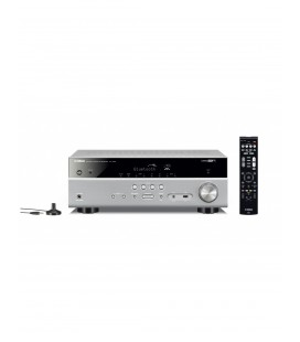 Network Receiver A/V Yamaha MusicCast RX-V485 Black, 5.1 canale, WI-FI, Airplay, Bluetooth, 4K Ultra HD, HDCP 2.2
