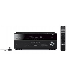Network Receiver A/V Yamaha MusicCast RX-V685 Black, 7.2 canale, WI-FI, Airplay, Bluetooth, 4K Ultra HD, Amazon Alexa®, HDCP 2.2