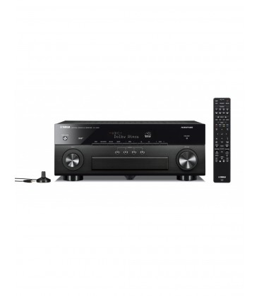 Receiver multicanal AV Yamaha Aventage RX-A880 Black 7.2 canale, UHD 4K, Dolby Atmos® and DTS-X™, ESS DAC, Deezer, Tidal