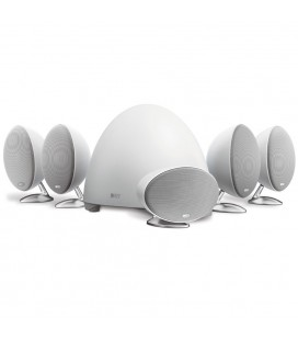 Set boxe surround 5.1 KEF E305 WHITE
