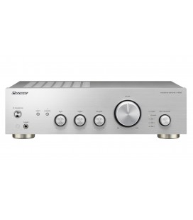 Amplificator stereo Hi-Fi Pioneer A-10AE Silver, 2x50 Watts, Direct Energy Design, Phono MM