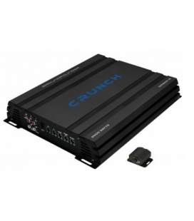 Amplificator auto mono Crunch GPX 2200.1D, 1 canal, 500W RMS, Clasa D