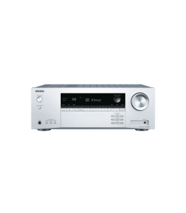 Bluetooth A/V Receiver 7.2 Onkyo TX-SR494 Silver, Dolby Atmos®, DTS:X™, Dolby Atmos Height Virtualizer