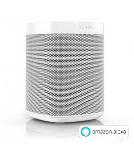 Boxa wireless SONOS ONE WHITE(GEN 2) - bucata, Apple AirPlay, Amazon Alexa, Multiroom