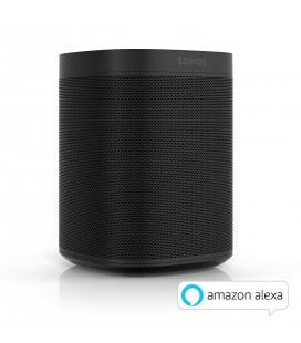 Boxa wireless SONOS ONE BLACK - bucata, Apple AirPlay, Amazon Alexa, Multiroom