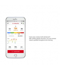 Casti sport wireless cu Bluetooth® UNDER ARMOUR® Heart Rate- White