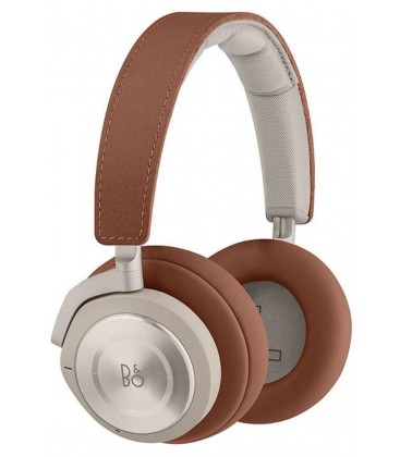 Casti wireless on ear cu microfon Bang & Olufsen Beoplay H9i Terracotta, ANC Active Noise Cancelling
