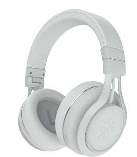 Casti Bluetooth Wireless KYGO A9/600 WHITE, Fast charging NFC pairing aptX® and AAC® codecs