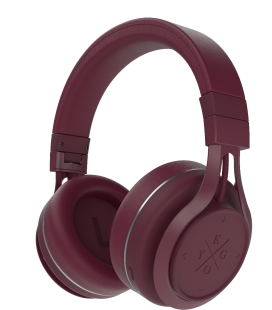 Casti Bluetooth Wireless KYGO A9/600 BURGUNDY, Fast charging NFC pairing aptX® and AAC® codecs