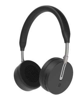 Casti Bluetooth Wireless KYGO A6/500 BLACK, Bluetooth 4.1, NFC pairing, aptX® and AAC® codecs