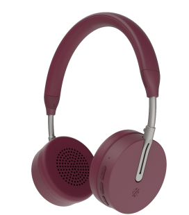 Casti Bluetooth Wireless KYGO A6/500 BURGUNDY, Bluetooth 4.1, NFC pairing, aptX® and AAC® codecs